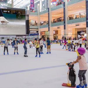 dubai korcsolyázás gyerekeknek is
