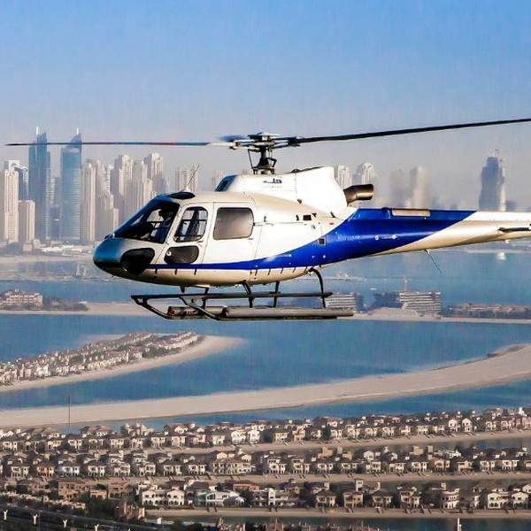 Helikopterezés Dubaiban