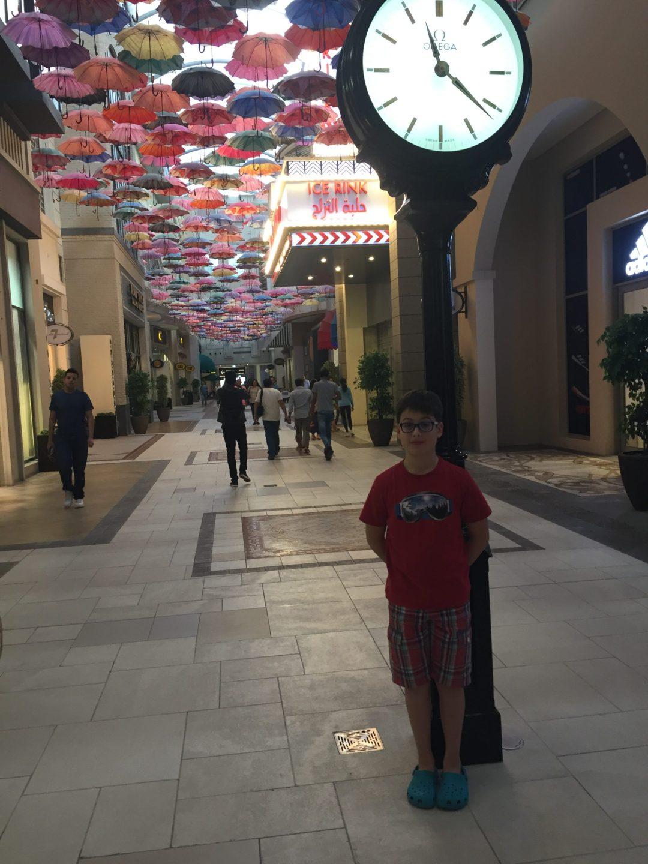 Budai Marci és Feri 2017 december - a Dubai Mallban
