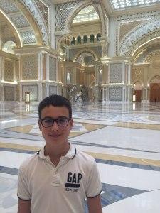 Budai Marci és Feri 2019 június - Abu Dhabiban a Nemzet palotájában