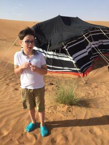"Budai Marci 2017 december sivatag - ""Ebben a sátorban fogunk lakni??"""