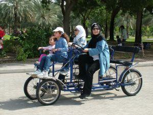 tandem Dubaiban (helyiek)
