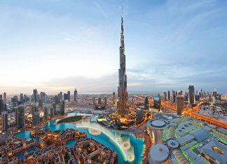 Burj Khalifa Exterior Dubai