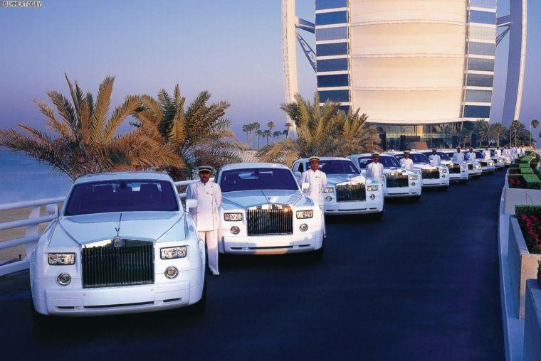 Burj Al Arab Rolls Royce