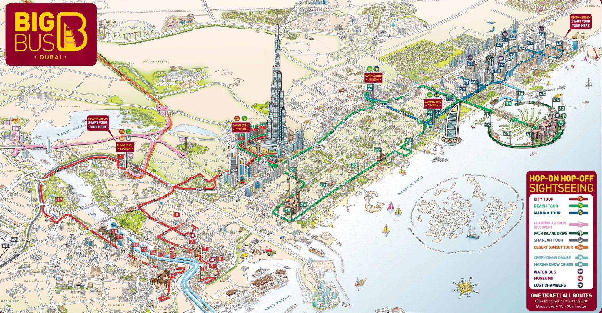 An Interactive Dubai Map by Google