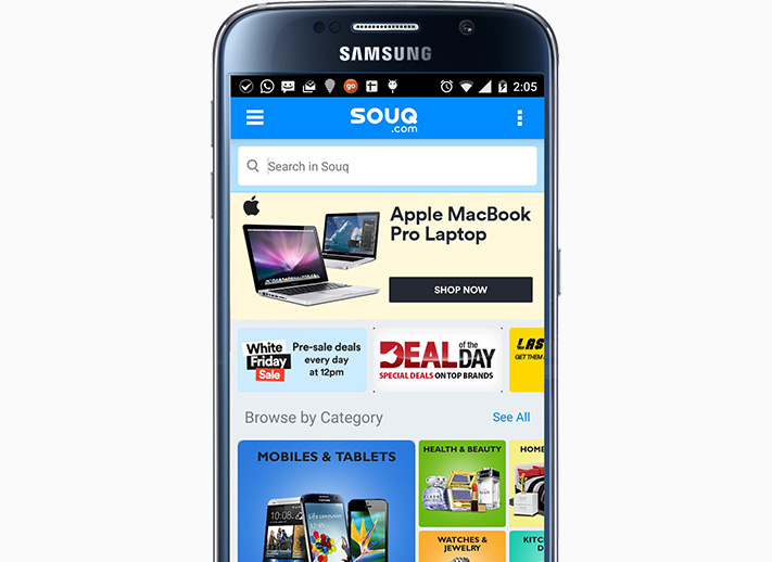 Souq - An Amazon Online Shop for Anything in The UAE
