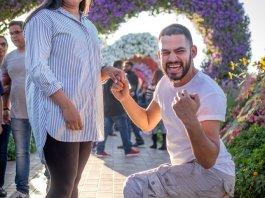 Dubai Miracle Garden Proposal Gone Right
