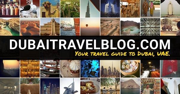 dubai travel blog redesign