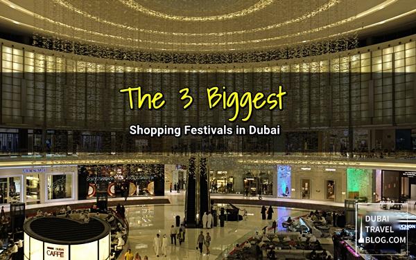 major shopping festivals dubai