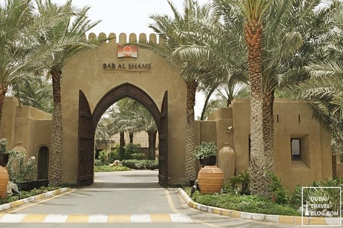 meydan resort bab al shams desert spa