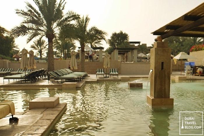 pool area bab al shams desert