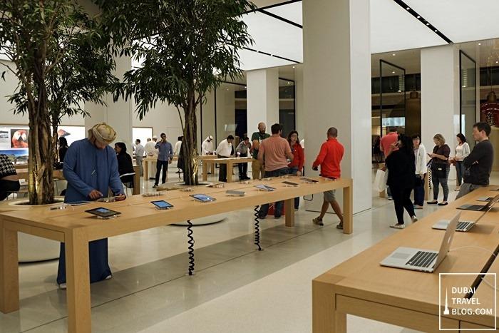 apple store uae mall of emirates