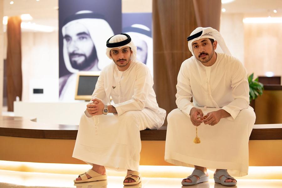 Abdallah Al Obeidly and Ahmad Ali Sumaiti
