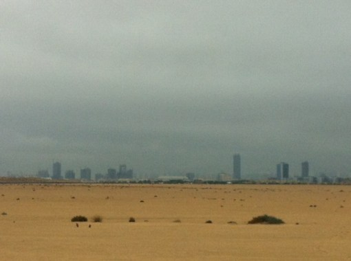 The next time the heavens open over Dubai, I'm having a duvet day too