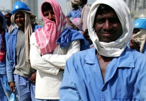 Migrants comprise some 90 percent of the 1.7 million workers in the UAE