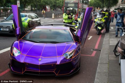 On a similar theme, this story made me smile this weekend. Police in London seized a glow-in-the-dark supercar after its wealthy Middle Eastern owner (thought to be a member of Qatar's ruling family) was stopped for not having a licence or the correct insurance.