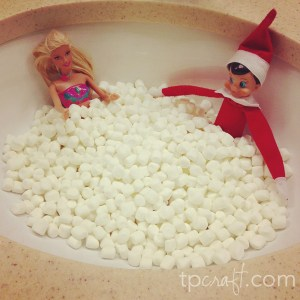 Day 10: Spa day for elf