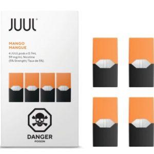 JUUL Mango Pods 4 Pack flavors in dubai