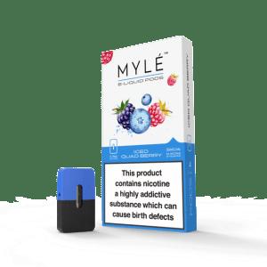 MYLE Pods Iced QuadBerry
