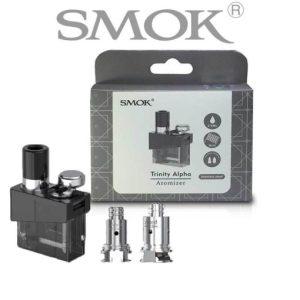 SMOK Trinity Alpha Pod Cartridges Empty Refillable