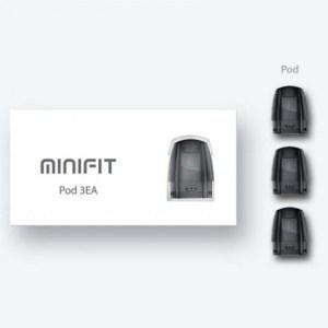JUSTFOG Minifit Pod Cartridges (Empty Refillable)