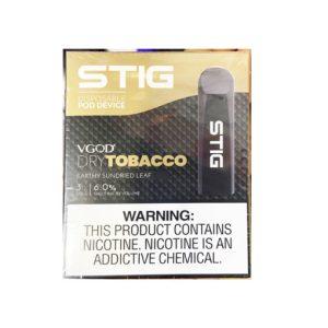 STIG Disposable Pod Dry Tobacco