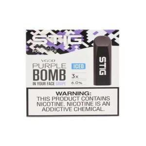 STIG Disposable Pod Iced Purple Bomb