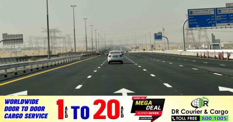 Road closures on Emirates Road and Al Ain Road in Dubai this weekend