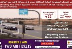Radars to catch tailgaters in umm al quwain