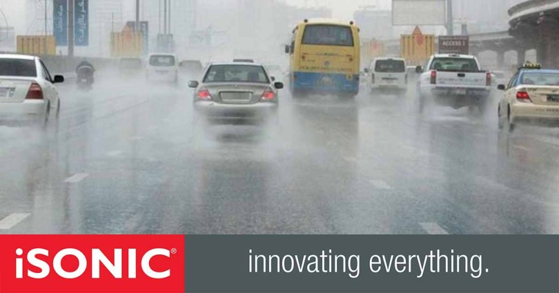 Sharjah Police advise people _ driving in the rain