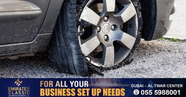Make sure your tires are in good condition before driving: Dubai Police launches safety campaign_dubaivartha