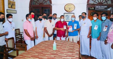 The book of the ruler of Dubai is now in the book collection of Kerala Sahitya Akademi.
