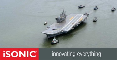 INS Vikrant launches test flight of India's indigenously built aircraft carrier_DUBAIVARTHA