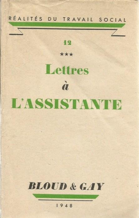 lettres à lassistante
