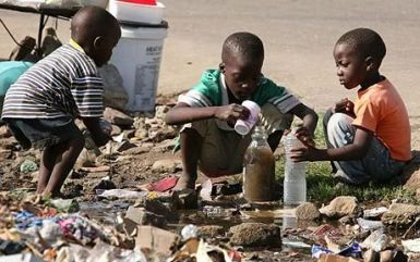 Children and Dirty Water