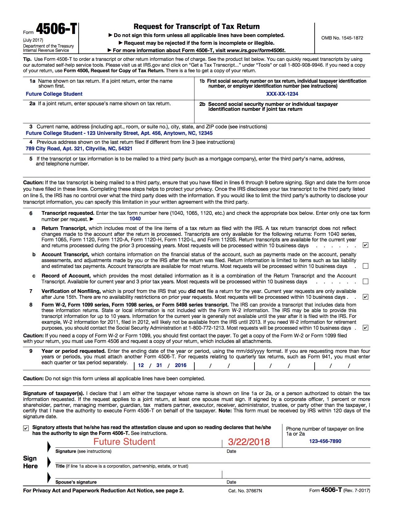 Fafsa Verification Dubc2college