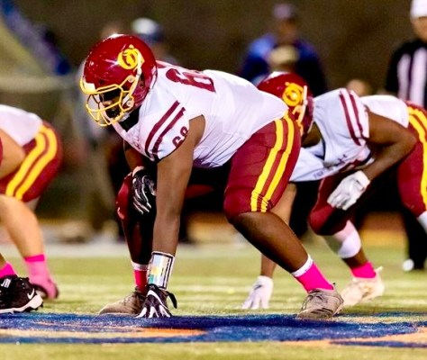 BREAKING: Local Three-Star Offensive Lineman Mark Nabou Commits To Washington