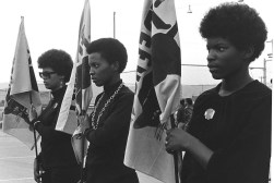 black panthers dogwoof documentary #1 Women drilling with Panther flags. Photo courtesy of Pirkle Jones and Ruth-Marion Baruch.