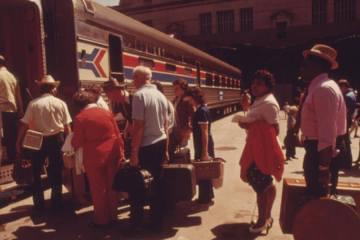 Amtrak station 1974