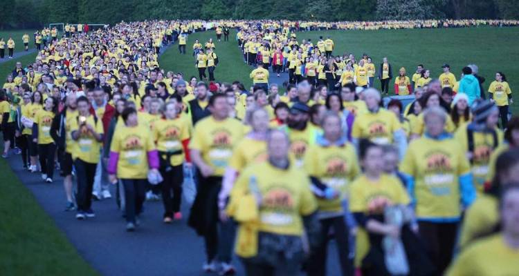 Darkness Into Light participants
