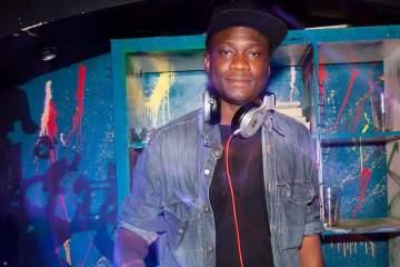 DJ Daley at the decks