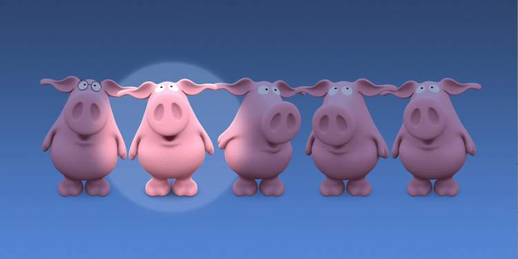 Perfect Piggies promo still - IFI Family Festival