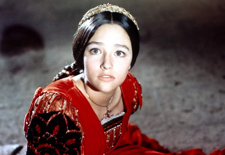 Still from Romeo & Juliet (1968) - Shakespeare Lives season