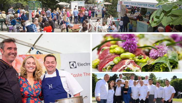 Taste of Dublin photo montage