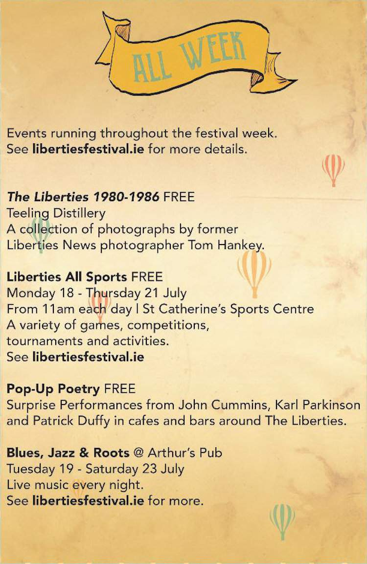 2016 Liberties Festival highlights