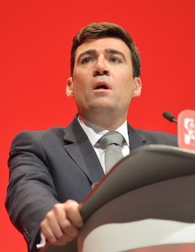 Andy Burnham mayor Manchester