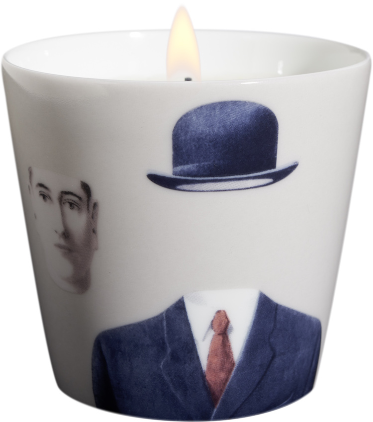 Ligne Blanche Pélerin Rene Magritte Candle Beige at The Marvel Room at Brown Thomas