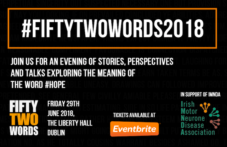 FiftyTwoWords Event Hope
