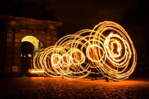 Fire Hula Hoops