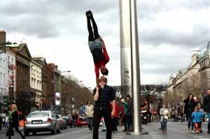Partner Acrobatics